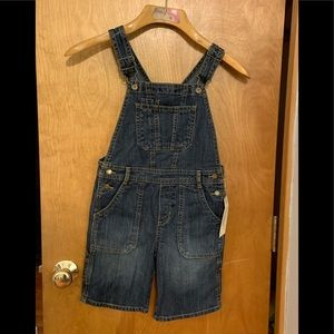 Kid's Bibbed Overall Shorts